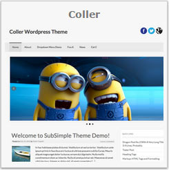 Beautifull WordPress Templates